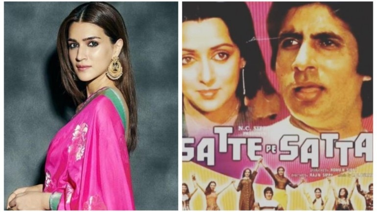 Kriti Sanon wants to be a part of Satte Pe Satta remake