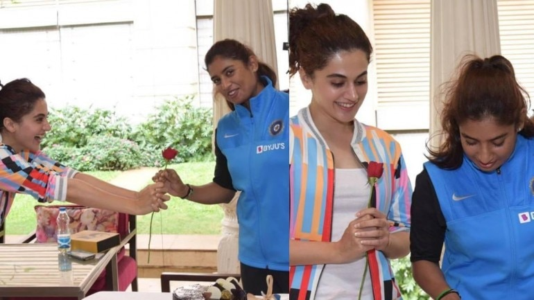 On Mithali Raj's birthday today, Taapsee Pannu took to social media to announce that she will be seen playing the cricketer's role in the latter's biopic.