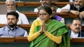Not a family of onion-eaters, says Nirmala Sitharaman amid price rise debate in Lok Sabha