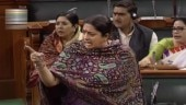 Congress leader's Sita remarks trigger uproar in LS, Irani says oppn communalising issue