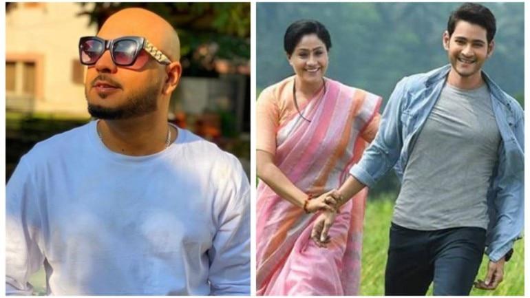 Singer B Praak records a Telugu song for Mahesh Babu's film