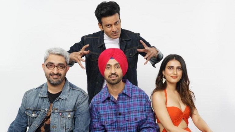 Diljit Dosanjh, Manoj Bajpayee and Fatima Sana Shaikh in Abhishek Sharma film