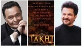 Rishi Kapoor has already seen Anil Kapoor's look in Takht: So majestic and royal