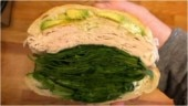 Too much spinach in this turkey sandwich? Internet is divided over viral pic