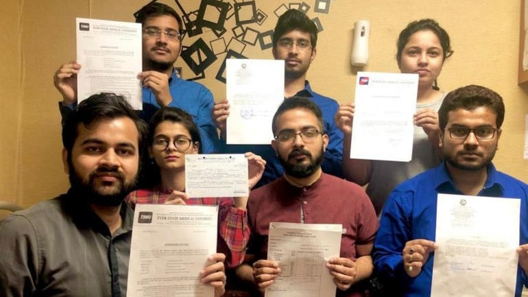 Indian Medical Students In Russia File