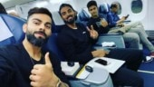 Virat Kohli jets off to Hyderabad with KL Rahul, Shivam Dube for 1st T20I vs West Indies