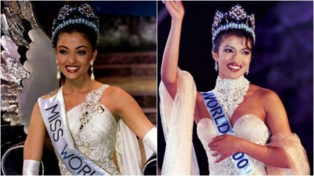 Who are the past Miss World winners from India?