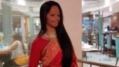 Laxmi Agarwal in rani pink silk saree looks timeless at Chhapaak screening in Mumbai. All pics