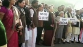 Sonia Gandhi leads anti-CAA protest in Parliament ahead of Budget Session