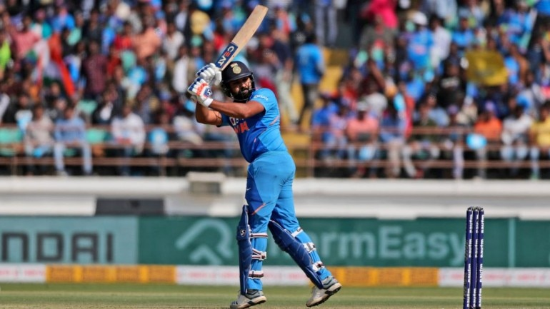 Rohit Sharma was dismissed by Adam Zampa after scoring 42. (AP Photo)