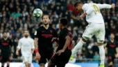 La Liga: Casemiro scores twice as Real Madrid beat Sevilla 2-1