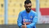 Watch: Virat Kohli sizzles Indore with hilarious imitation of Harbhajan Singh's bowling action