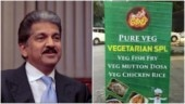 Anand Mahindra shares menu of vegetarian eatery which serves Veg Mutton Dosa. Internet dies laughing