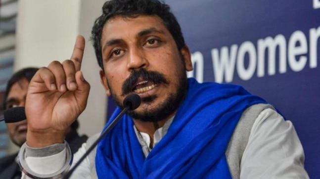 Bhim Army chief Chadrashekhar Azad arrested in Hyderabad