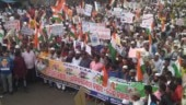 Odisha: Thousands take part in protest against CAA, NRC in Bhubaneswar