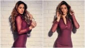Disha Patani in figure-hugging mini dress channels inner Beyonce for Malang promotions. All pics