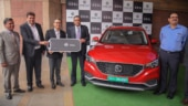 MG ZS EV maiden unit delivered to EESL