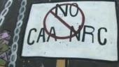 Jamia students paint road with anti-CAA graffiti, start 'School for Revolution'