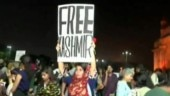 FIR filed against Mumbai woman for holding Free Kashmir poster during protest at Gateway of India