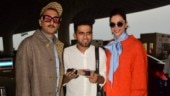 Deepika Padukone cuts cake, celebrates 34th birthday at the airport with Ranveer Singh and the paps
