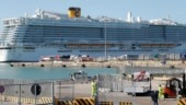 Italian cruise liner on lockdown over Coronavirus scare, 6,000 stranded