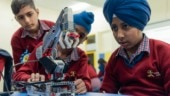 Robotic Lab set up in Punjab government school by Bharti Foundation and Ericsson India