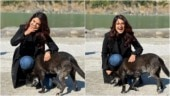 Beyhadh 2: Jennifer Winget plays with a dog while shooting in Rishikesh, calls it pure joy