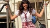 Karishma Tanna sports school girl look for Khatron Ke Khiladi 10 promo, Ekta Kapoor says which school is this