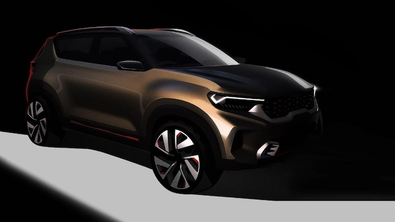 Kia Motors To Unveil New Concept Compact Suv At Auto Expo 2020