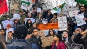 Indian students, activists protest against CAA, NRC outside High Commission in London