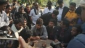 DMK youth wing leader Udhayanidhi Stalin meets JNU students in Delhi