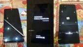 Samsung Galaxy Note 10 Lite live images leak, show off S Pen, flat display and square camera bump at the back