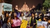 Students protest outside Victoria Memorial as BJP MP addresses Kolkata Literary Meet session