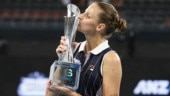 Karolina Pliskova outlasts Madison Keys for 3rd Brisbane title