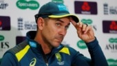 Australia coach Justin Langer hoping for rain for third Test in smoky Sydney