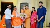 Governor BS Koshyari dines with Uddhav Thackeray at Matoshree