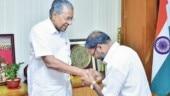 Kerala CM Pinarayi Vijayan lauds trader for 1 acre land donation