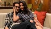 Vikas Gupta shares cute pic with BFF Surbhi Chandna, calls it bematlab ki dosti