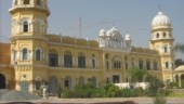 Sikh groups in India protest outside Pakistan High Commission after attack on Nankana Sahib