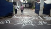 Anti-CAA Kolam protest: Chennai police probing detained protester's Pak connection