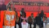 Days before Delhi elections, Union minister Anurag Thakur chants 'Desh ke gaddaron ko...' at rally