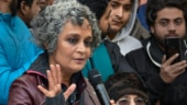 Arundhati Roy targets govt: Maybe one day they will be in detention centres, we will be azad