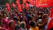 Trade unions' strike hits road, rail traffic in parts of Bengal