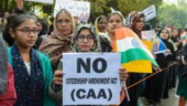 Chants of CAA se azaadi as hundreds of students march in protest on AMU campus