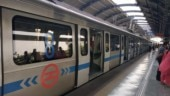 Delay in Delhi Metro's blue line due to passenger on track