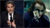 Joker Joaquin Phoenix pays emotional tribute to Heath Ledger in SAG Awards speech. Watch video