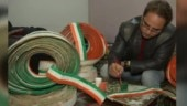 Amritsar teacher creates national flag with 71k toothpicks before Republic Day. Twitter salutes him