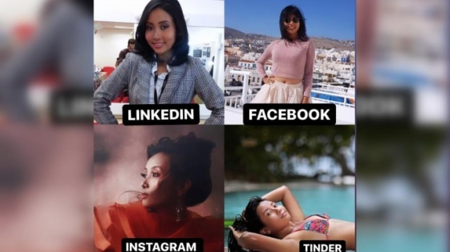 Ankita Konwar to Jonas Brothers: Celebs take LinkedIn Facebook Instagram Tinder meme challenge