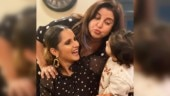Sania Mirza has adorable wish for Farah Khan on birthday. Shares adorable pic featuring son Izhaan