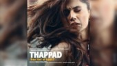 Thappad first look poster out: Kya pyaar mein ye bhi jayaz hai, asks Taapsee Pannu